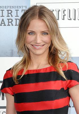 Cameron Diaz At Arrivals For Film Poster by Everett