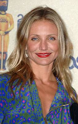 Cameron Diaz In The Press Room For 2009 Poster by Everett