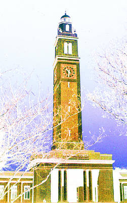 Campanile At Louisiana State University Poster