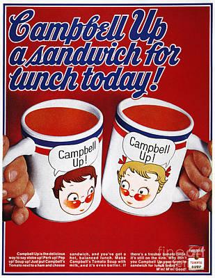Campbells Soup Ad, 1969 Poster