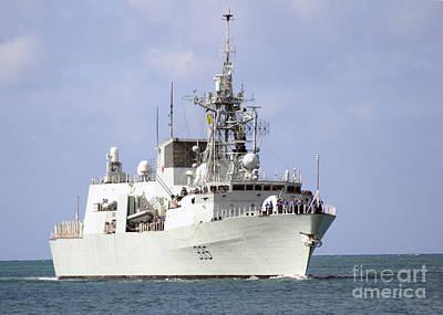 Canadian Navy Halifax-class Frigate Poster