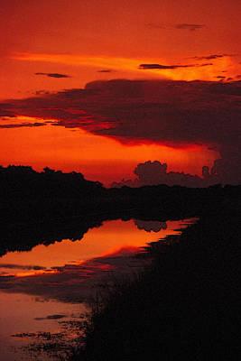 Canal Sunset Poster by Bob Whitt