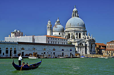 Canale Grande Venice Poster by Travel Images Worldwide