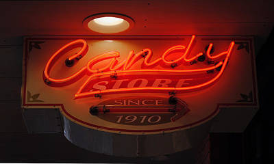 Candy Poster by Skip Willits
