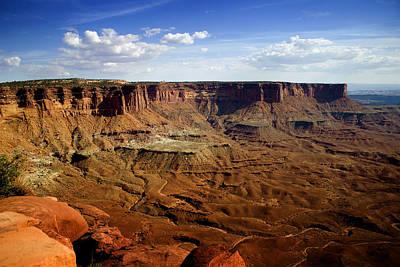 Canyonlands - Utah Poster by Ellen Heaverlo