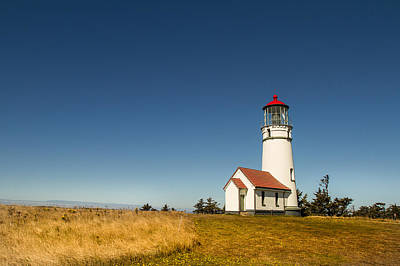 Cape Blanco Lighthouse Poster by Randy Wood