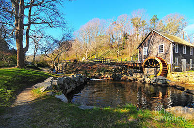 Cape Cod Grist Mill Poster