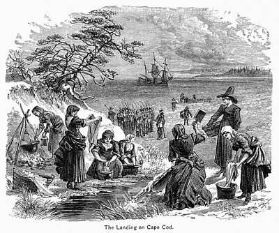 Cape Cod: Pilgrims Poster