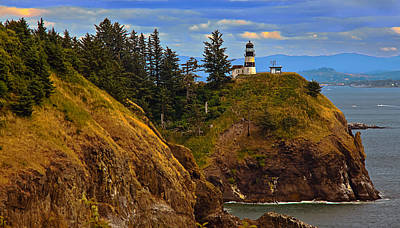 Cape Disappointment  Poster by Robert Bales