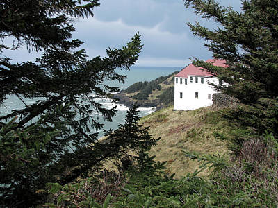 Cape Foulweather Clouds Poster