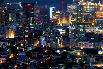 Cape Town's Tilt Shift  Poster by Fabrizio Troiani