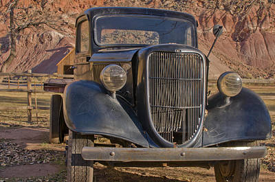 Capitol Reef Truck Poster