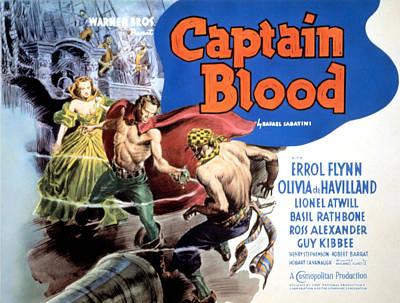 Captain Blood, Olivia De Havilland Poster