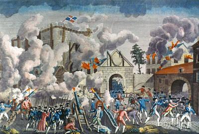 Capture Of Bastille, 1789 Poster by Granger
