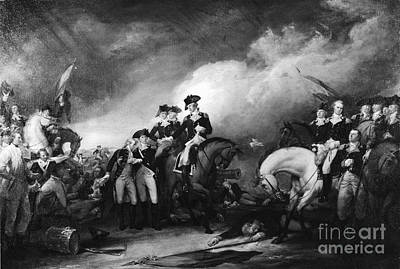 Capture Of The Hessians At Trenton Poster by Photo Researchers