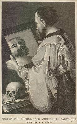 Caravaggio Michelangelo Merisi Poster by Everett