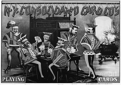 Card Company Trade Card Poster