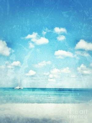 Poster featuring the photograph Caribbean Beach by Diana Riukas