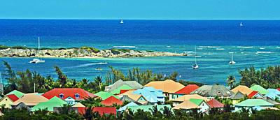 Caribbean Colors Poster