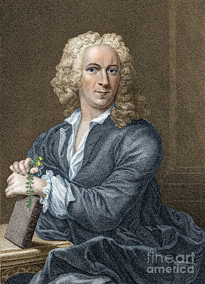 Carl Linnaeus, Swedish Botanist Poster