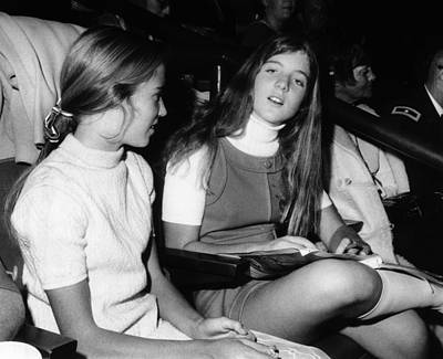 Caroline Kennedy, Almost 14 Years Old Poster by Everett