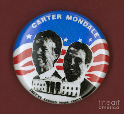 Carter Campaign Button Poster by Granger
