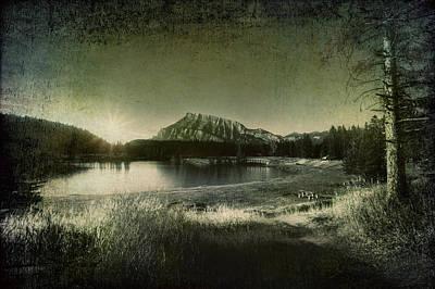 Cascade Pond Banff Poster