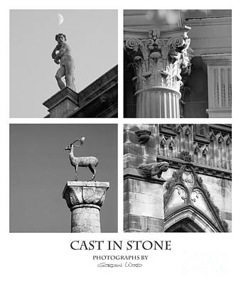 Cast In Stone Poster by Gordon Wood