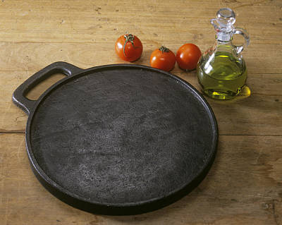 Cast Iron Skillet Poster by Sheila Terry