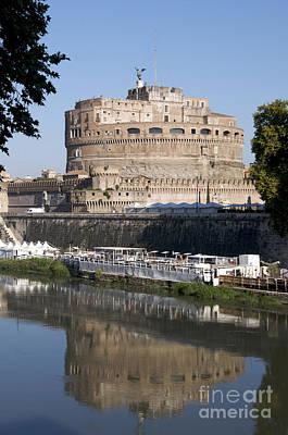 Castel Sant'angelo Castle. Rome Poster by Bernard Jaubert