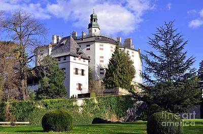 Castle Ambras In Innsbruck Poster