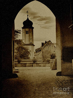 Castle Gate Poster by Heiko Koehrer-Wagner