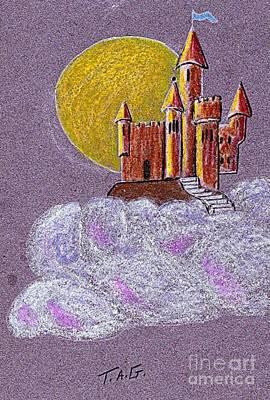 Castle Moon Poster