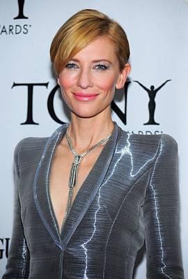 Cate Blanchett Wearing A Van Cleef & Poster