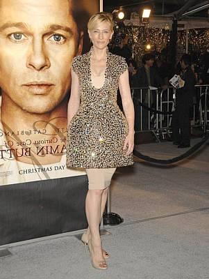 Cate Blanchett Wearing Alexander Poster