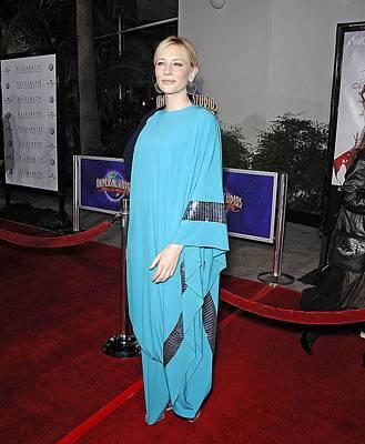 Cate Blanchett Wearing Missoni Poster by Everett