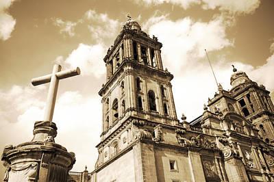 Catedral Metropolitana De Mexico Poster