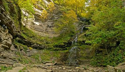 Cathedral Falls West Virginia Poster by Michael Peychich