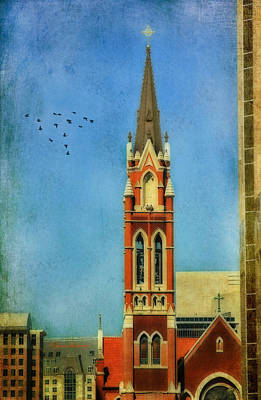 Poster featuring the photograph Cathedral by Joan Bertucci