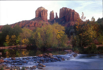Poster featuring the photograph Cathedral Rock by Darleen Stry