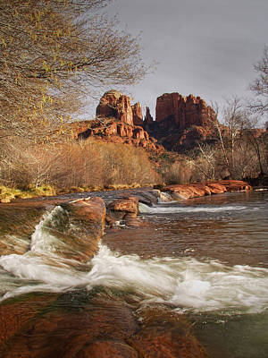 Cathedral Rock In Sedona Arizona Poster by Randall Nyhof
