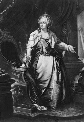 Catherine II, Empress Of Russia Poster