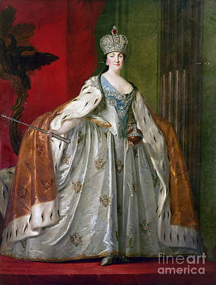 Catherine II Of Russia Poster