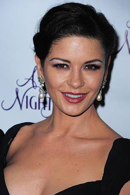 Catherine Zeta-jones At The After-party Poster