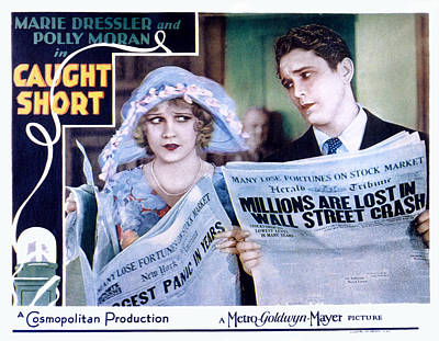 Caught Short, Anita Page, Charles Poster by Everett