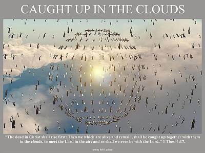 Caught Up In The Clouds Poster