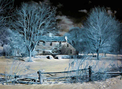 Caumsett Farm House Poster