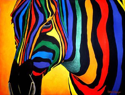 Cavallo Di Colore Poster by Lynsie Petig