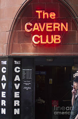 Cavern Club Poster by Andrew  Michael