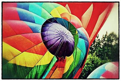 Poster featuring the photograph Celebrate America Balloon Fest 1 by Jim Albritton